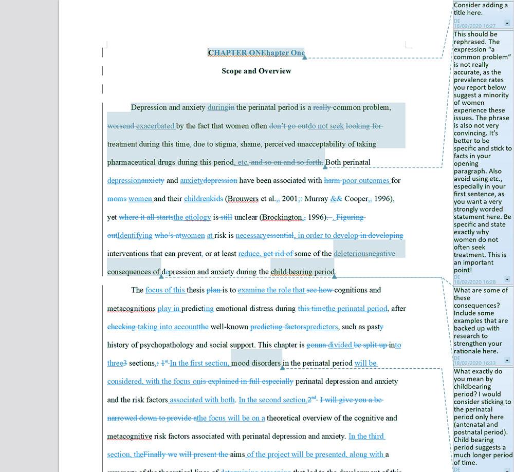 College essay narration